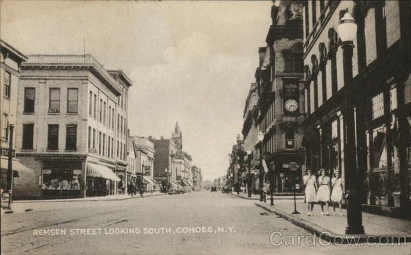 Remsen Street, looking South Cohoes New York