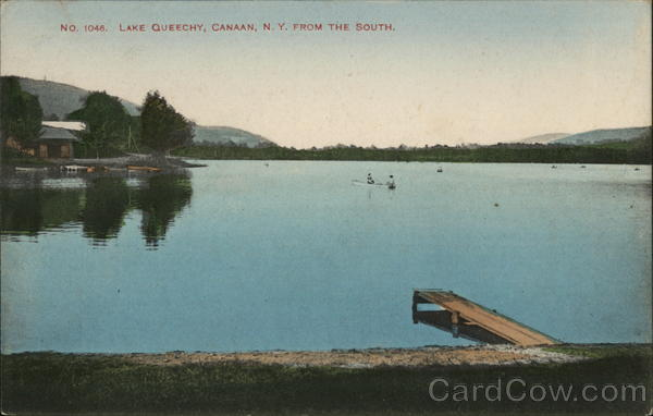 Lake Queechy from the South Canaan New York