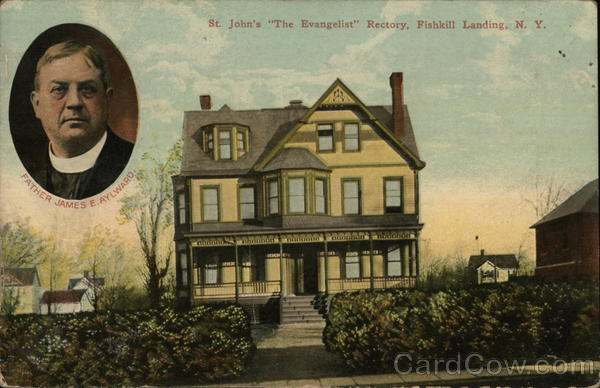 St. John's The Evangelist Rectory, Fishkill Landing Beacon New York