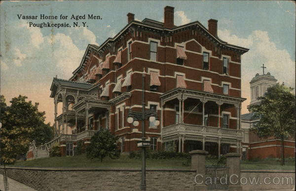 Vassar Home for Aged Men Poughkeepsie New York