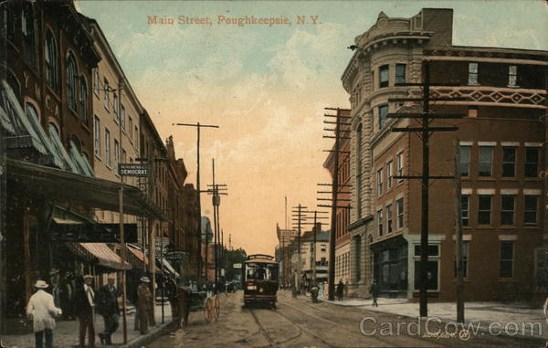Main Street Poughkeepsie New York