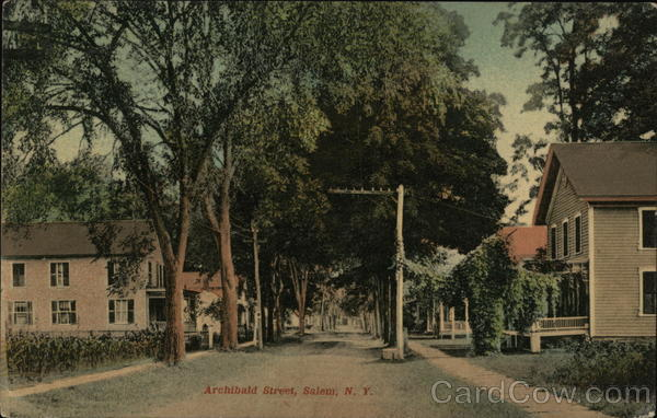 Archibald Street Salem New York
