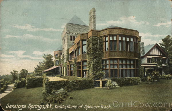 Yaddo, Home of Spencer Trask Saratoga Springs New York