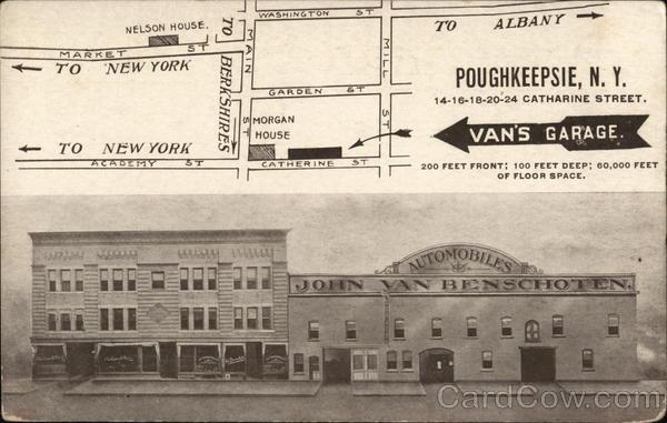John Van Benschoten Automobiles Poughkeepsie New York