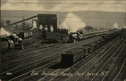 Erie Railroad Yards
