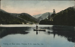 Fishing at Blue Lakes