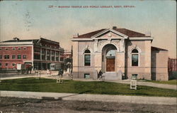 Masonic Temple and Public Library