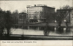 Plaza Hotel and Loring Park