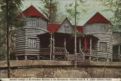 Summer Cottage of Ex-President Harrison in the Adirondacks