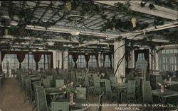 Tea Room Adjoining Roof Gardens, H.C. Capwell Co.