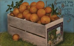 Sending a Box of Oranges from California