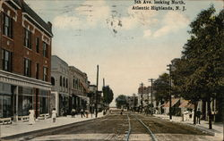 5th Avenue, looking North Postcard