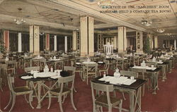 Narcissus Room, Marshall Field & Company Tea Rooms