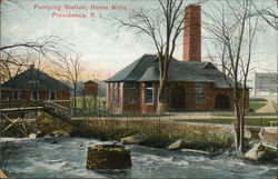 Pumping Station, Hunts Mills