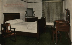 Typical Sleeping Room, Owyhee Hotel