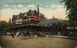 Central Railway Station Postcard