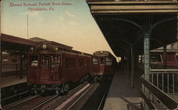 Elevated Railroad, Fortieth Street Station Postcard