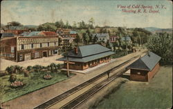 Bird's Eye View, Railroad Depot