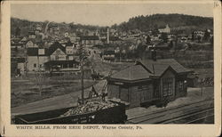 White Mills from Erie Depot
