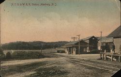 N. Y. S. & W. R. R. Station
