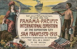 Panama-Pacific Exposition Postcard