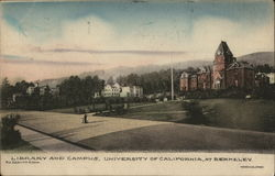 Library and Campus, University of California