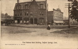 First National Bank Building Postcard