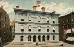Post Office & Customs House Postcard