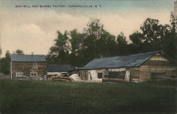 Saw Mill and Barrel Factory