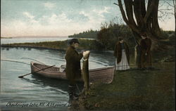 A 28 Pound Lunge, Chautauqua Lake, New York