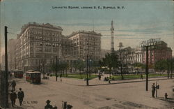 Lafayette Square, Looking Southeast