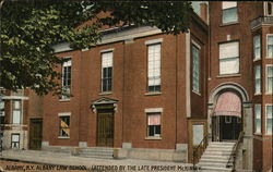 Albany Law School, Attended by Late President McKinley