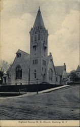 Highland Avenue, M. E. Church