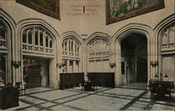 Interior of Library, Vassar College