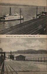 Rhinecliff and Kingston Ferry
