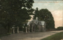 Col. J. J. Astor's Gate House Postcard