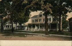 The Thompson Home & Hospital Postcard