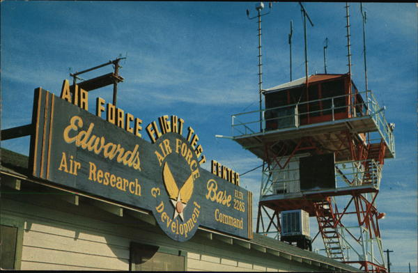 Edwards Air Force Base, Flight Test Center, Air Research and Development Command California