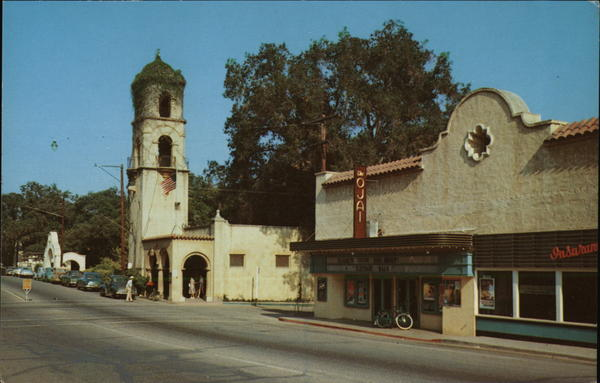 Post Office Tower Ojai California