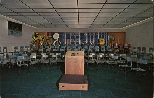 Conn Band Room Elkhart Indiana