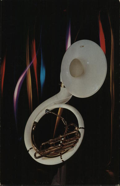 Conn Fiberglass Sousaphone Advertising Music