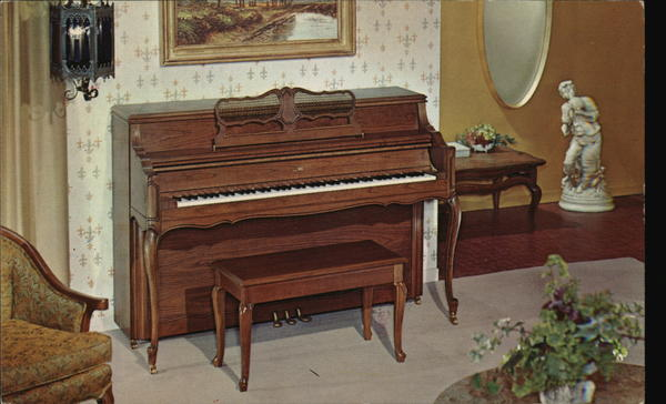 CONN PIANOS Advertising