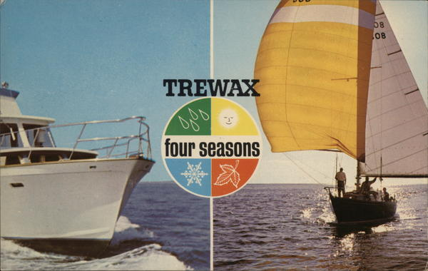 Trewax - Four Seasons Boat Wax Advertising