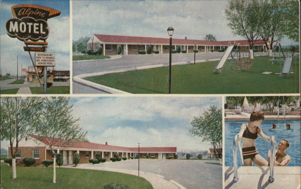 Alpine Motel Inkster Michigan