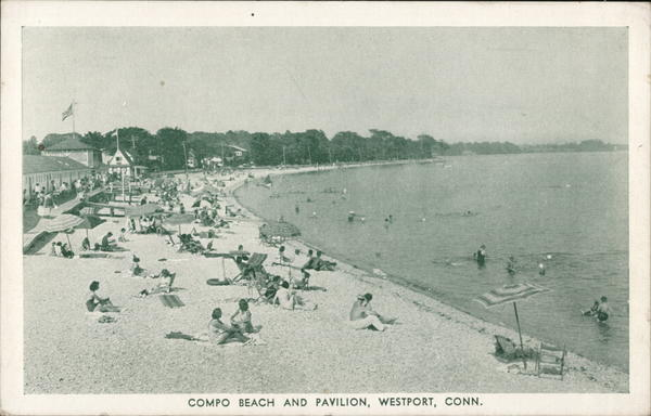 Compo Beach and Pavilion Westport Connecticut