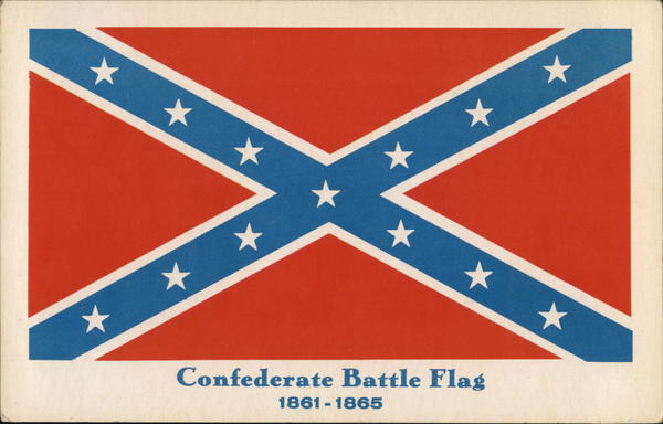 Confederate Battle Flag 1861-1865 Civil War