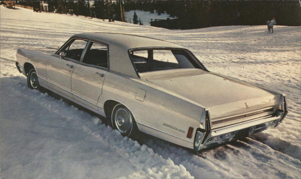 1968 Mercury Montclair 4-Door Sedan in Snow Cars