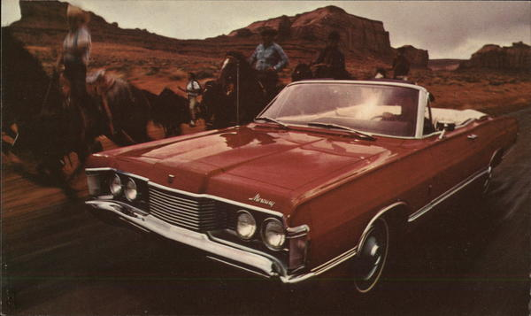 1968 Mercury Park Lane Convertible Cars