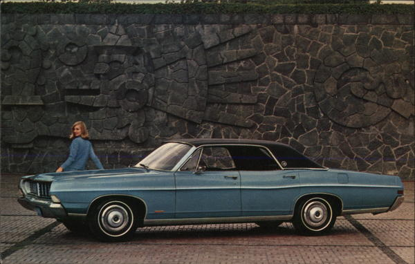1968 Ford LTD Four Door Hardtop Cars