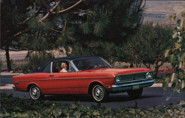 1968 Falcon Futura Sports Coupe Advertising